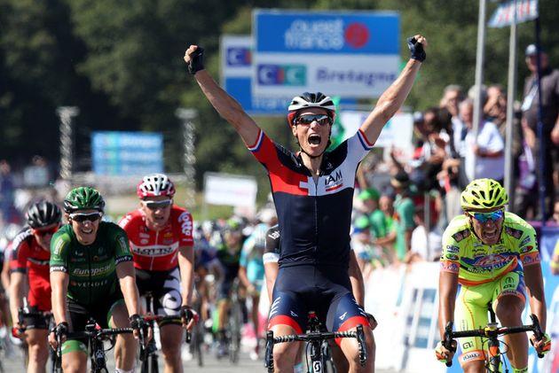 Sylvain Chavanel wins GP Plouay 2014