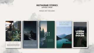 Best free Instagram Stories template for photographers