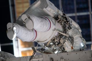 Spacesuit Gloves Contaminated During All-Woman Spacewalk