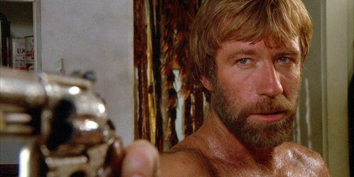 Chuck Norris in Lone Wolf McQuade