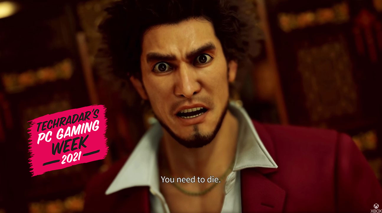 Yakuza character telling someone that they need to die