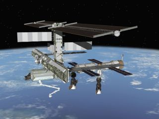 Space Station Crew Discards Unmanned Cargo Ship