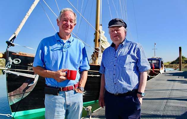 Britain by Boat - shows Michael Buerk and John Sergeant