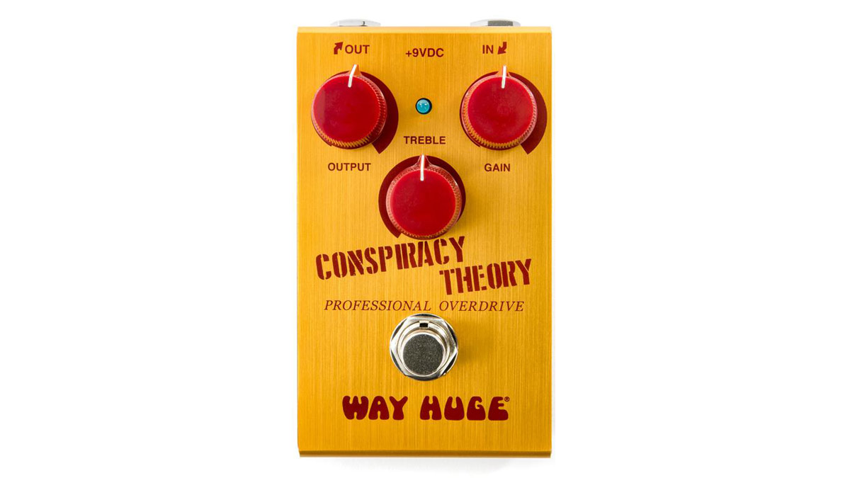 Way Huge debuts Conspiracy Theory Professional Overdrive pedal