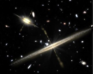 Even Thin Galaxies Pack Hefty Black Holes
