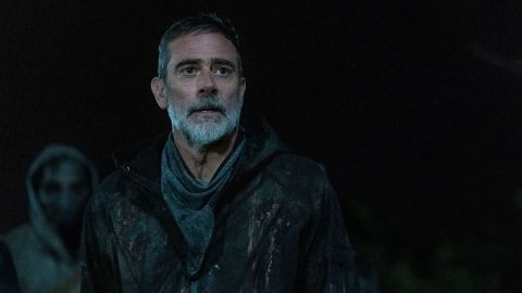 Negan in The Walking Dead season 11 premiere