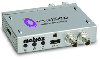 Matrox Launches MC-100 SDI to HDMI Mini Converter