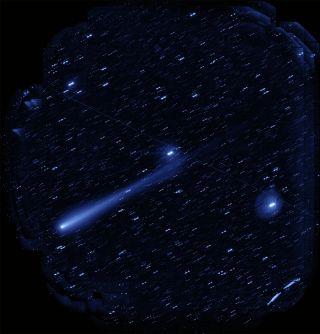Hyper Suprime-Cam Captures Comet ISON's Long Tails