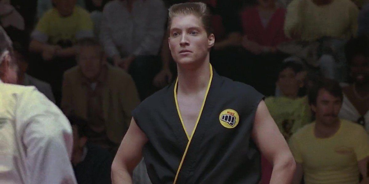 Sean Kanan as Mike Barnes in The Karate Kid Part III (1989)