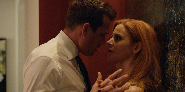 Suits Harvey Gabriel Macht Donna Sarah Rafferty USA