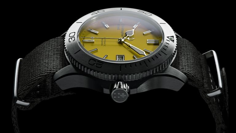 Christopher Ward C60 Trident 316L Yellow
