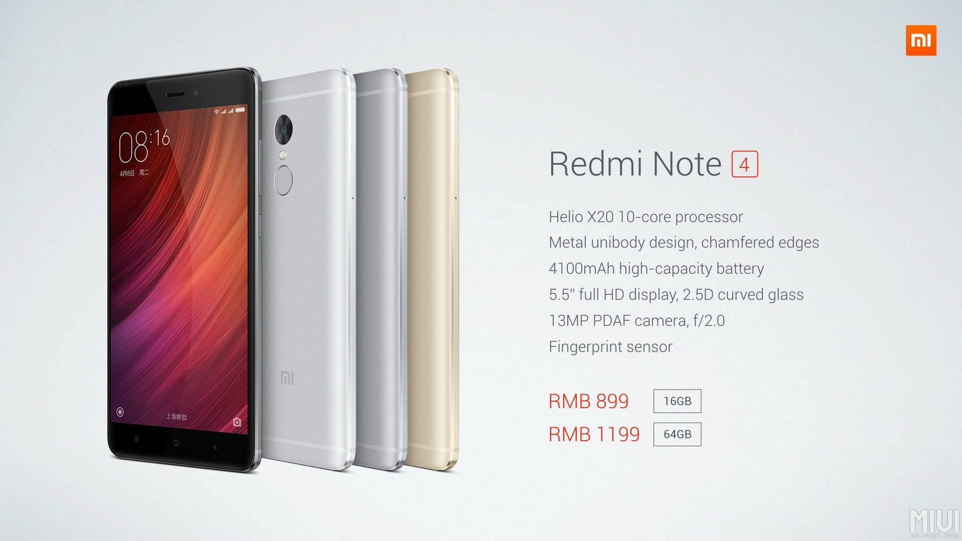 4f577bd040c Mark the date! Xiaomi Redmi Note 4 Indian launch confirmed for ...
