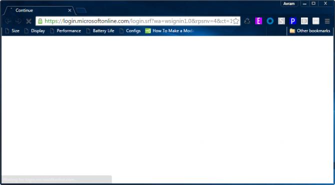microsoft online login