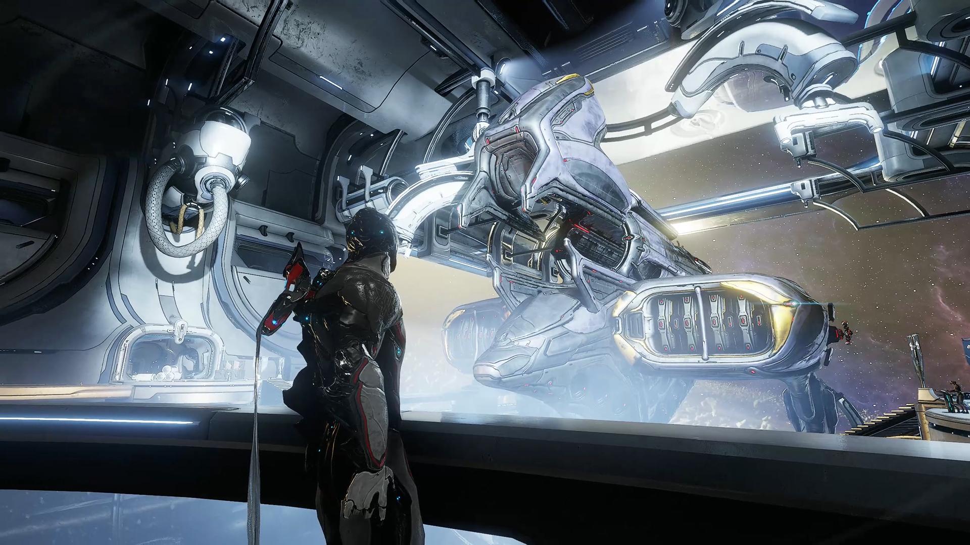 نتيجة بحث الصور عن Win a trip to actual space by playing a lot of Warframe