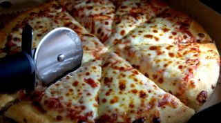 Brazilian team pizzas