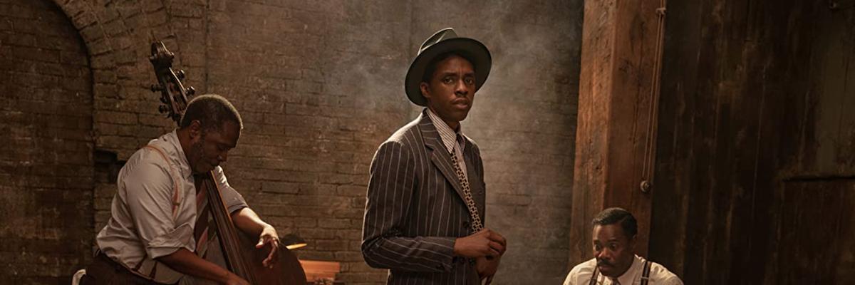 Chadwick Boseman in Ma Rainey
