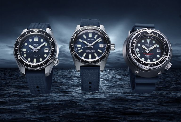 Seiko recreates three of its most iconic dive watches for a big anniversary
