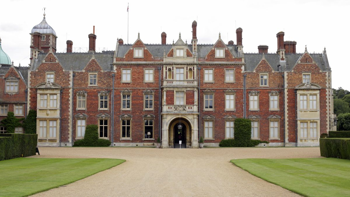 Take a closer look at Sandringham House, the Queen's stunning Norfolk home