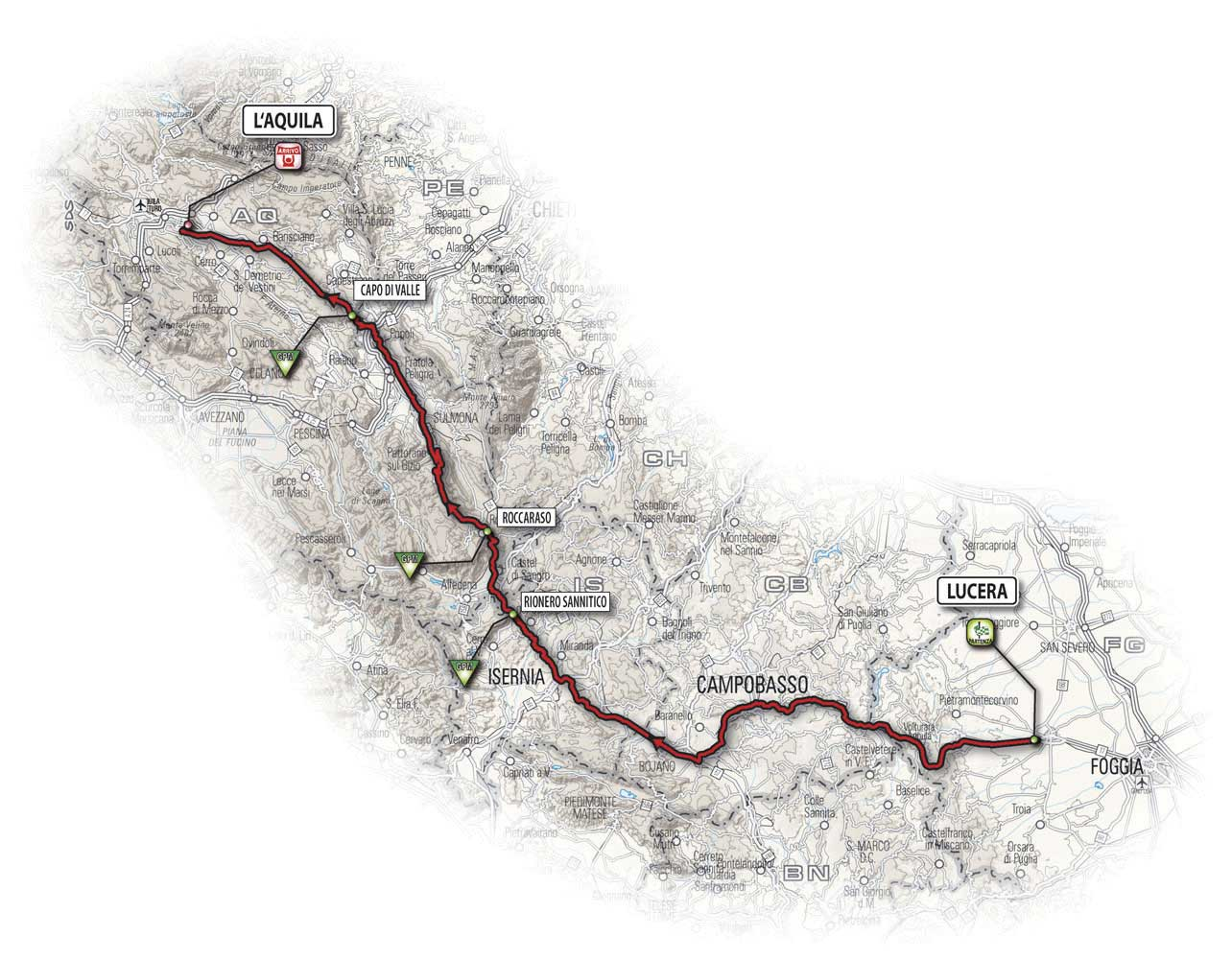 giro d'italia, giro, tour of italy, stage map