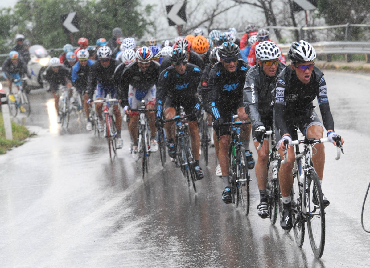 Sorensen leads escape, Giro d'Italia 2010, stage 11