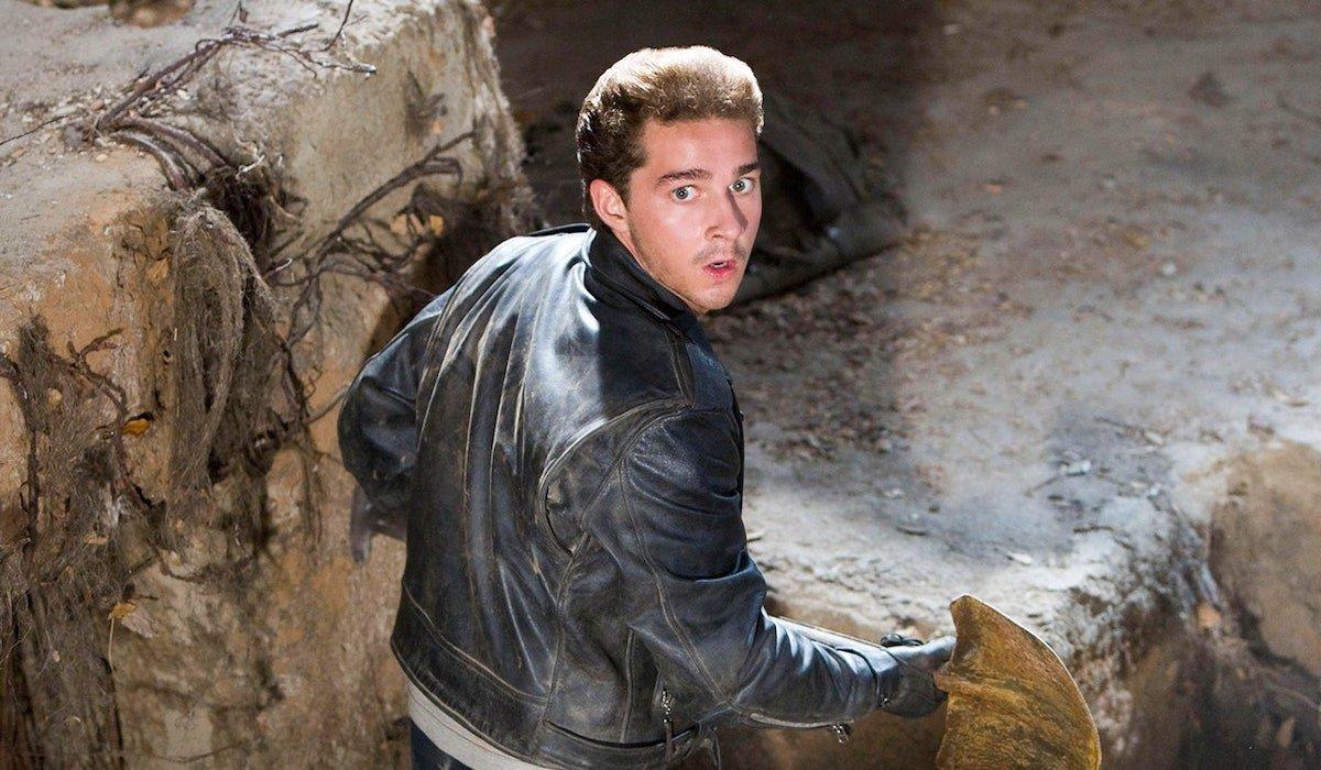 Shia LaBeouf in Indiana Jones