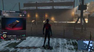 Spider-Man Miles Morales sample locations
