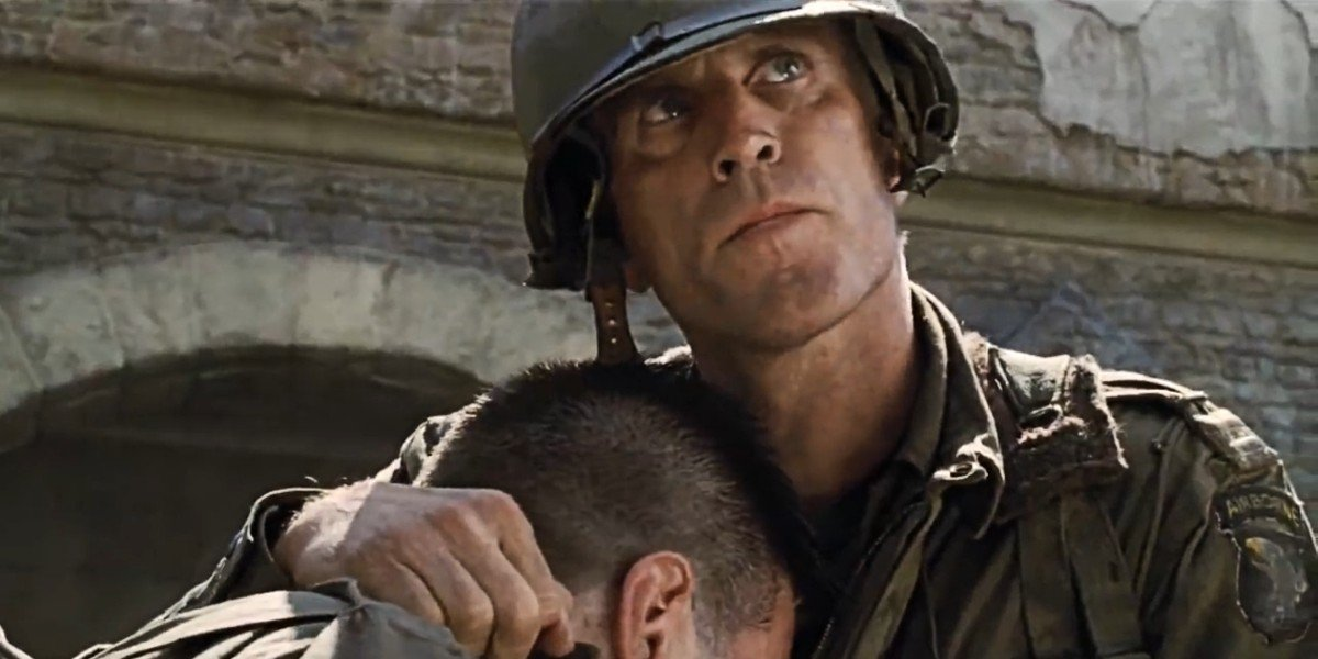 Ted Danson in Saving Private Ryan