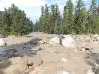 Mount Shasta mudslide