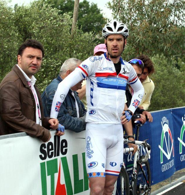 David Millar Giro stage five