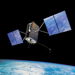 GPS 3 Spacecraft Conceptual Art