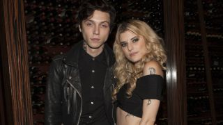 A picture of Andy Biersack and Juliet Simms