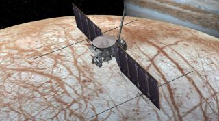 Europa Clipper art