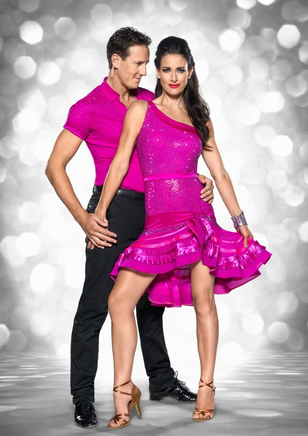 Kirsty Gallacher with Brendan Cole