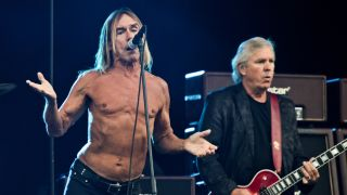 Iggy Pop and James Williamson