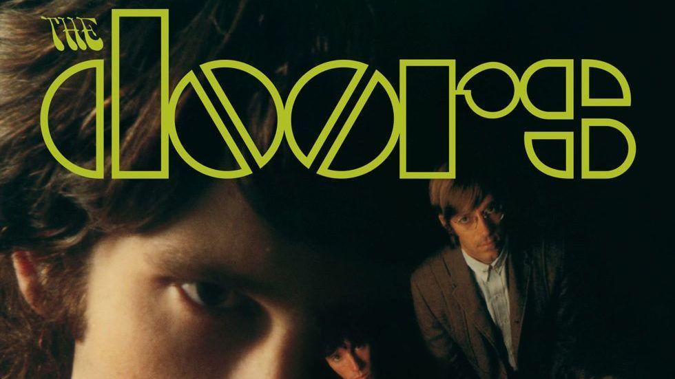 Jim Morrison Record Album Cover  COASTER The Doors Break on Through