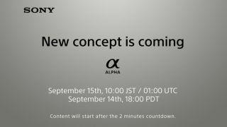 Sony Alpha camera launch