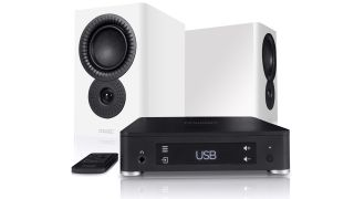 Mission LX Connect is a compact all-in-one hi-fi system