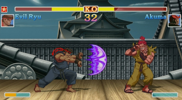 Ultra Street Fighter II Akuma