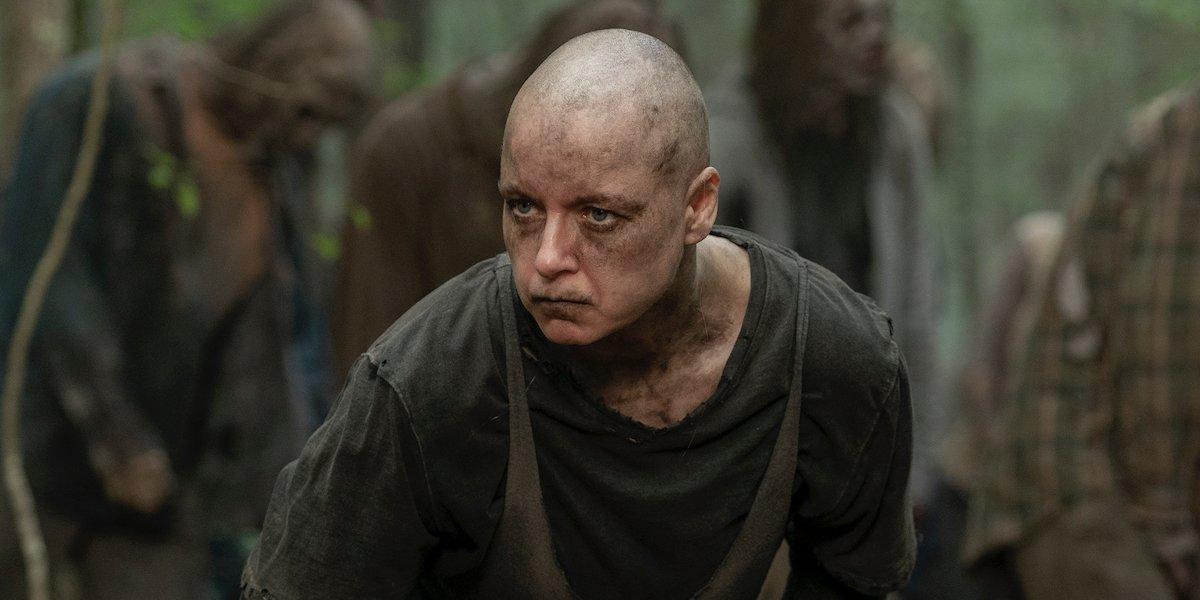 alpha angry the walking dead season 10