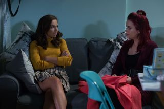 EastEnders Ruby Allen and Whitney Carter have heart-to-heart
