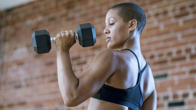 Dumbells workout