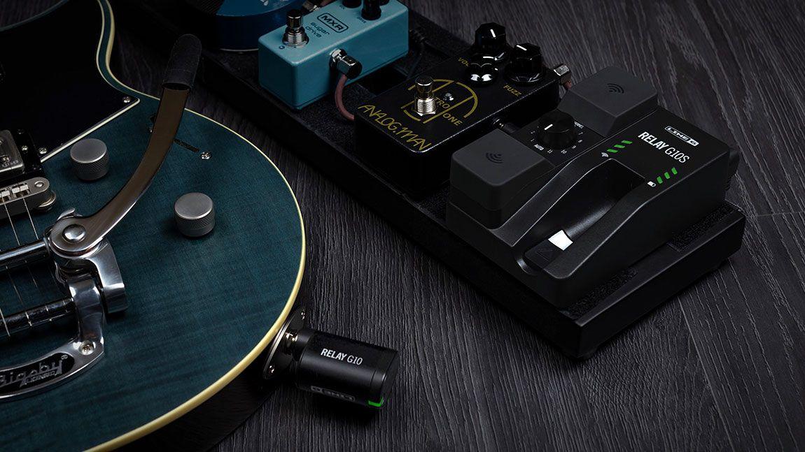 namm 2019 line 6 unveils pedalboard mountable relay g10s guitar wireless system musicradar. Black Bedroom Furniture Sets. Home Design Ideas