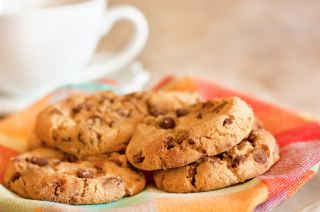 cookies, chocolate chip, sweet, snack, sugar, trans fat