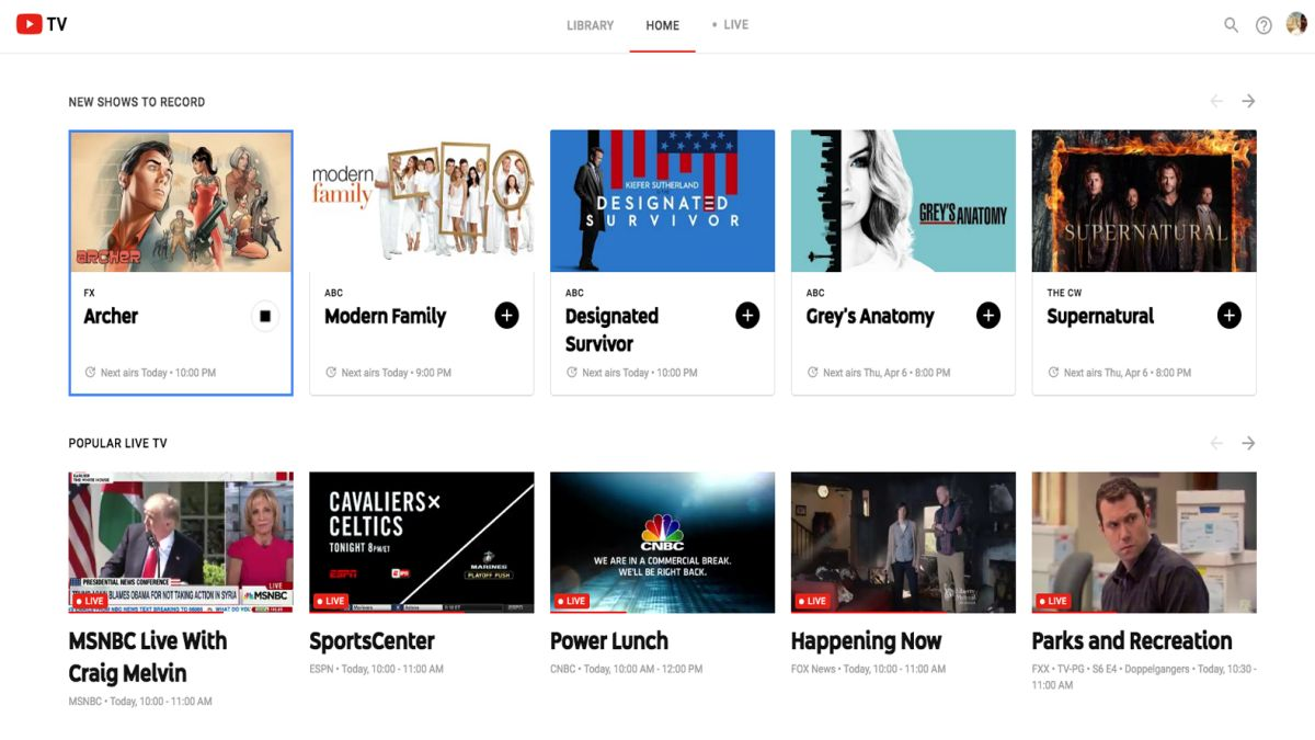 Youtube Tv Everything You Need To Know About The Tv