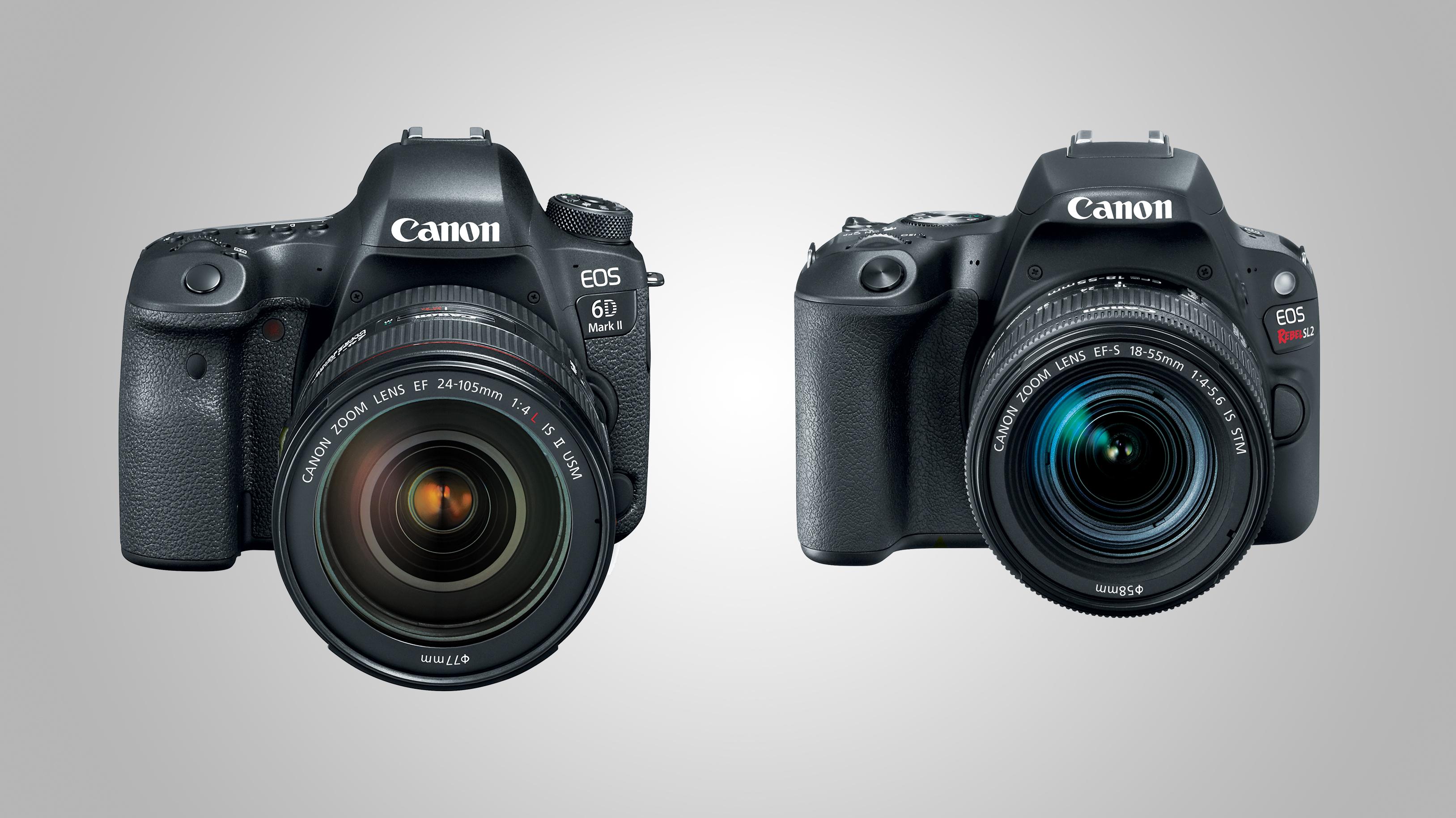 Canon unveils EOS 6D Mark II and EOS Rebel SL2 | TechRadar