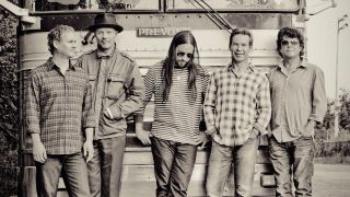 A promotional photo of The Tragically Hip
