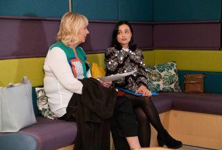 Coronation Street spoilers: Its Eileen Grimshaw verses Alina Pop