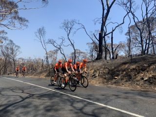 The CCC Team visited the Adelaide Hills before the Tour Down Under