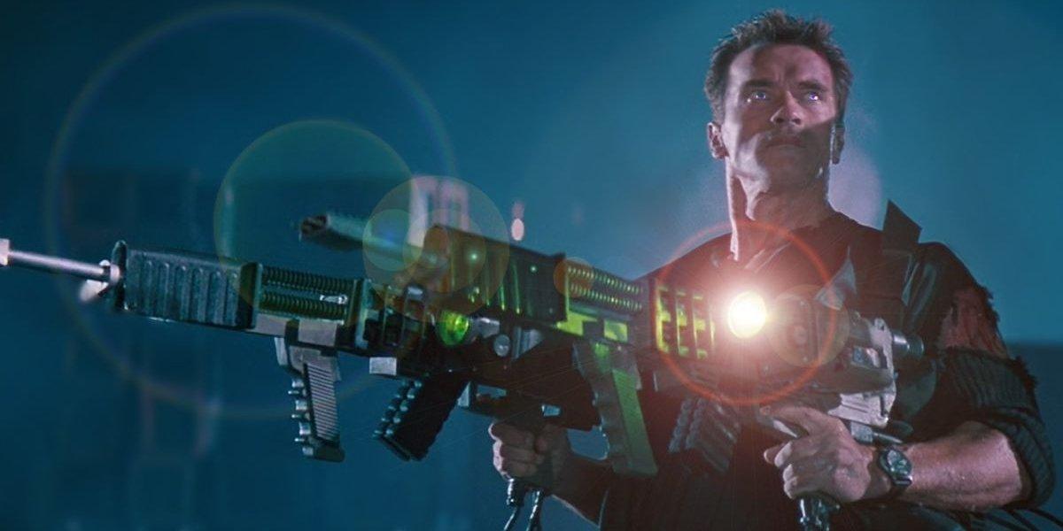 Arnold Schwarzenegger in Eraser