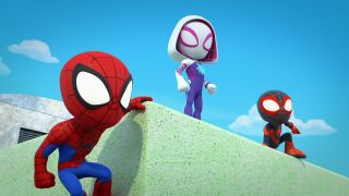 Young Spidey and His Amazing Team on Disney Junior